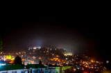 Night view of Darjeeling from the Hotel